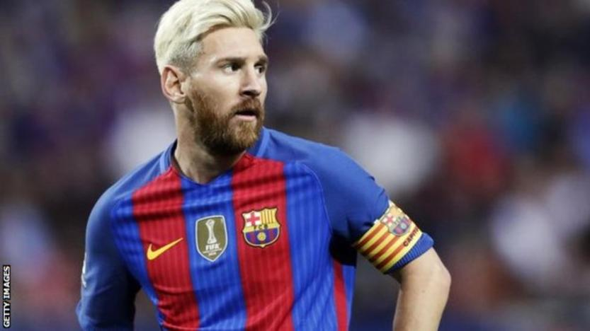 Lionel Messi did not score against Leicester but he was involved in three of Barcelona's goals